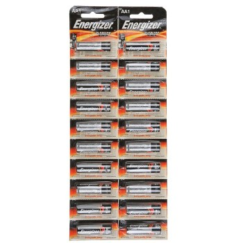 Батарейка алкалиновая Energizer Alkaline Power, AA, LR6-20BL, 1.5В, отрывной блистер, 20 шт.