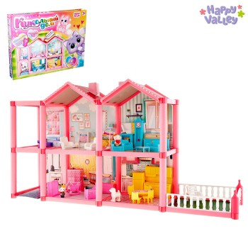 Дом для кукол «Кукольный дом» с аксессуарами