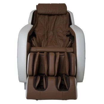 Массажное кресло GESS-723 Integro, 6 программ, ИК-прогрев, бежево-коричневое