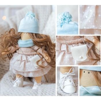 Интерьерная кукла «Лола», набор для шитья, 18.9 × 22.5 × 2.5 см