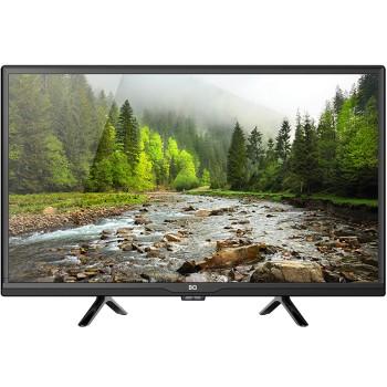 "Телевизор BQ 24S01B, 24"", 1366x768, SmartTV, DVB-T2/S2, 2xHDMI, 2xUSB, черный"