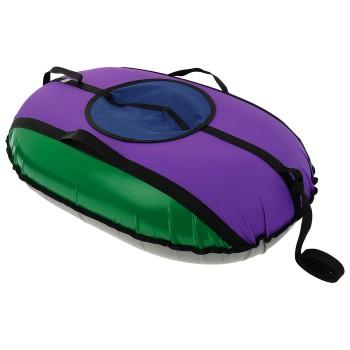 Тюбинг-ватрушка «Овал», 100 х 70 см, цвета МИКС